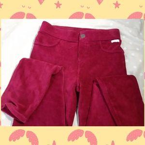 🎄 Calvin Klein fancy Girls leggings corduroy